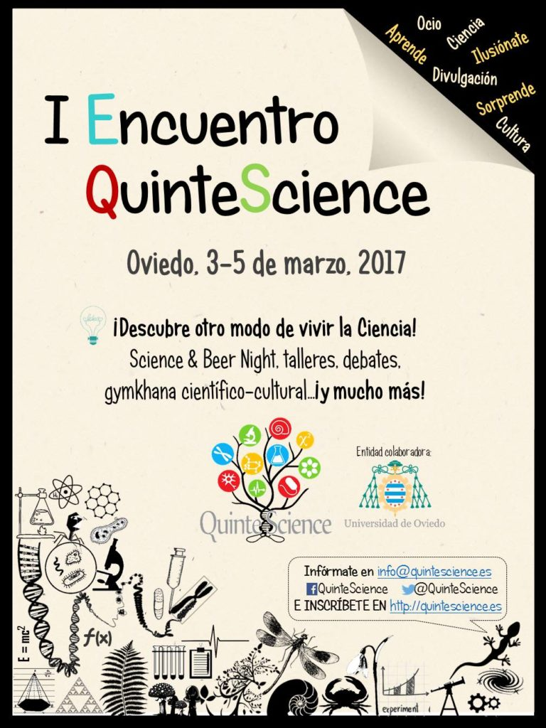 Cartel I Encuentro QuinteScience