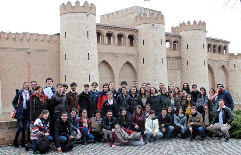 Foto de grupo en el EQS Zaragoza
