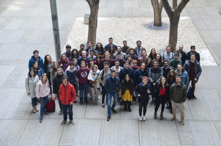 Foto de grupo en el PRBB