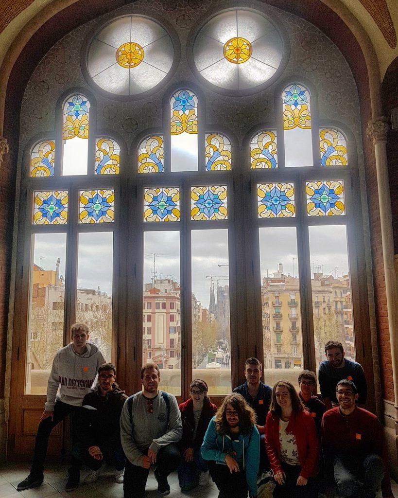 Quinters en el Antic Hospital de Sant Pau