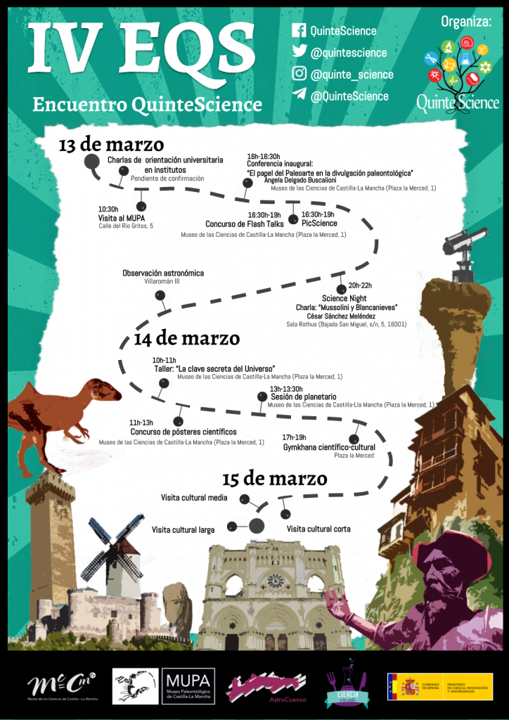 Cartel actividades EQS Cuenca